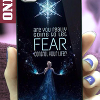 Elsa Frozen Quotes MJ7 design for iPhone 4/4s, iPhone 5/5s/5c, Samsung Galaxy S3/S4 Case