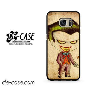 Harley Quinn And Joker Art Couple Case Device 1 DEAL-5069 Samsung Phonecase Cover For Samsung Galaxy S7 / S7 Edge