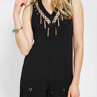 Urban Outfitters - Staring At Stars Embroidered Eyelet Romper