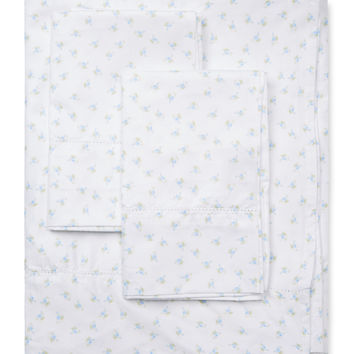 Chic Floral Classic Hemstitch Sheet Set