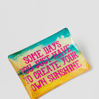 Create Your Own Sunshine Glass Tray