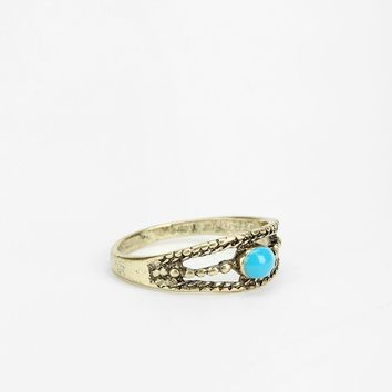 Braided Stone Midi Ring - Urban Outfitters