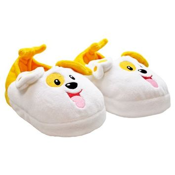 Bubble Guppies: Bubble Puppy Slippers - Toddler - L/XL