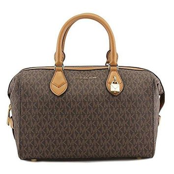 Michael Michael Kors Grayson Large Convertible Satchel Women Satchel