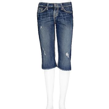 BKE Factory Second Sarah Stretch Cropped Jean