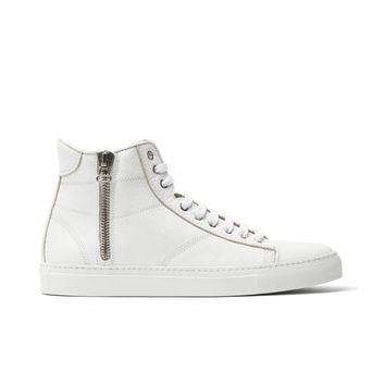 Wings + Horns Classic High in White