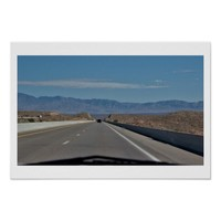 Scenic Mountain Highway Poster
