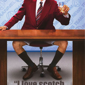 Anchorman Ron Burgundy Movie Poster 24x36