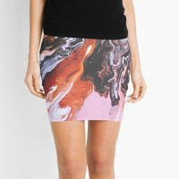 'Soul Mate' Mini Skirt by DuckyB