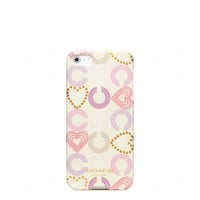 Coach :: Waverly Heart Iphone 5 Case