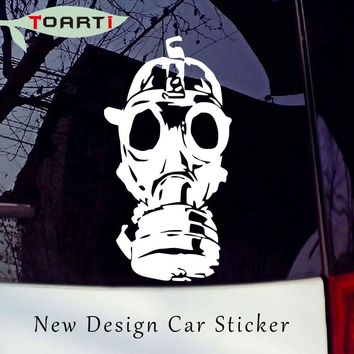 Gas Mask Vinyl Decal Sticker Window Wall Car Bumper Laptop Zombie Walking Dead Car Styling Funny Pvc Removable Stickers