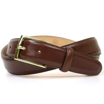 Smith Belt in Luggage Brown Leather by Martin Dingman