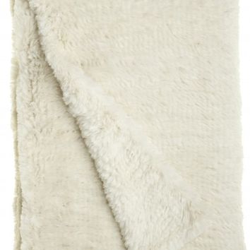 Luxe Lapin Fur Throw | Calypso St. Barth
