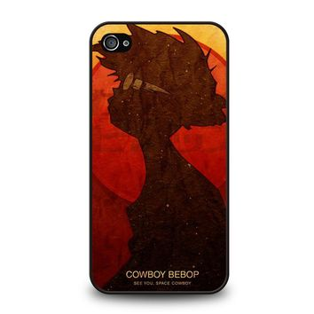 COWBOY BEBOP SILHOUETTE iPhone 4 / 4S Case