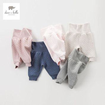 DB4222 davebella autumn baby pants basic trousers