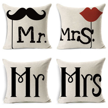 Shop Hers And Hers Pillow Cases On Wanelo