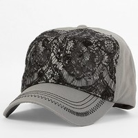 Lace Overlay Hat
