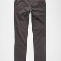 Rsq Seattle Mens Skinny Tapered Chino Pants Charcoal  In Sizes