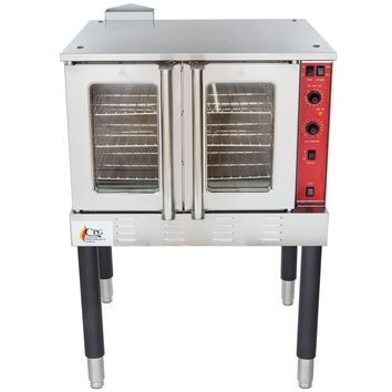 Convection Oven FGC100N Single Deck Full Size Natural Gas with Legs - 54,000 BTU