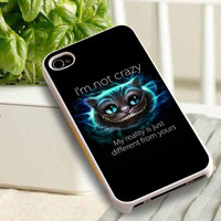 cheshire cat  For iphone 4/5/5c, ipad, ipod, Samsung S3/S4/S5, Samsung Note in Klungking