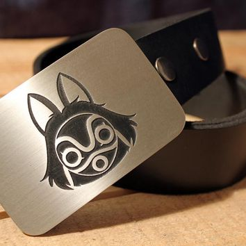 Princess Mononoke Belt Buckle