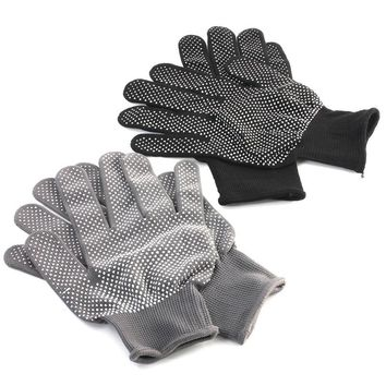New 3 Pair 2 Colors Hair Straightener Perm Curling Hairdressing Heat Resistant Finger Glove
