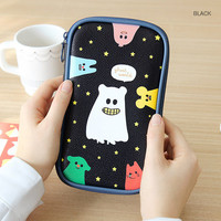 Gunmangzeung Ghost pop cute illustration pencil pouch