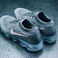 2018 Nike Air Vapormax CDG 30 YEARS Men Sneaker Color Gray&Sliver