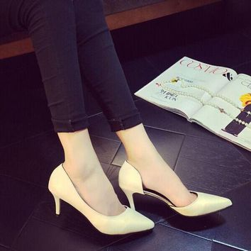 VLX2WL Pointed Toe High Heel Club Shoes [9432944074]