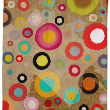 rosc Ruth Fitta Schulz  -  Abstract Circles Rustic and Modern Home decor