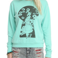 Disney Alice In Wonderland Keyhole Girls Pullover Top