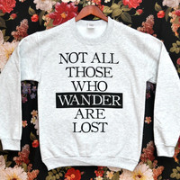 [PREORDER] 'Those Who Wander' Sweater