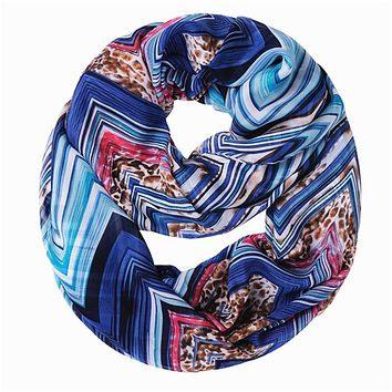 new mixed color o ring plus size collars fashion wave flower strip dots lady scarf thin bali yarn women scarves