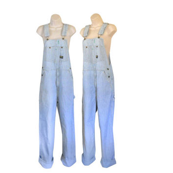 Women Denim Overall Vintage Train Striped OverallOsh Kosh Overall Women Overall Women Bib Overall 90s Overalls Dungarees Salopette Over All
