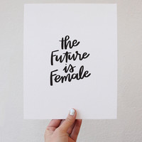 The Future is Female - Black