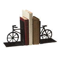 Midwest CBK Cast Iron Bicycle Library Bookend Set