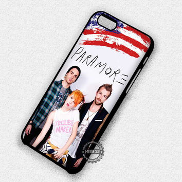 Indie Band Paramore American Flag - iPhone 7 6 5 SE Cases & Covers
