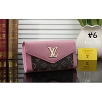 LV 2019 new women's retro wild fashion clutch bag Messenger bag #6