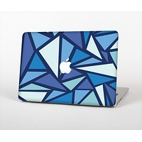 The Large Vector Shards of Blue Skin Set for the Apple MacBook Pro 13""