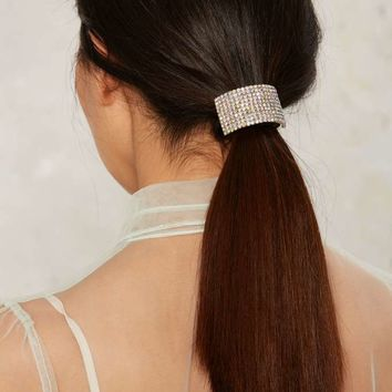 Keep Dreaming Rhinestone Hair Wrap