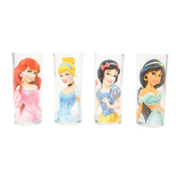 Disney Princesses Pint Glasses Set