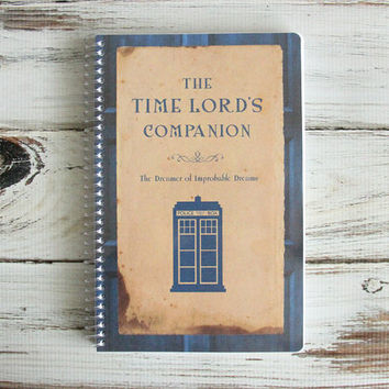 The Time Traveler's Companion 11th Doctor Who Planner