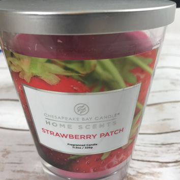 Chesapeake Bay Candle Home Accents Strawberry Patch Fragranced Candle 11.5 OZ