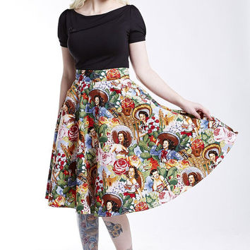 Chicquita Swing Skirt