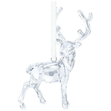 Swarovski Crystal Christmas Ornament 2015 STAG ORNAMENT, Clear - 5135847