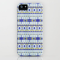 Organic Aztec iPhone Case by fromtheplant | Society6
