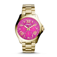 Cecile Multifunction Stainless Steel Watch – Gold Tone