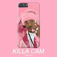 Camron Cam Pink Phone Fur Illustration IPhone / Galaxy Case