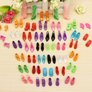 Multiple Styles High Heels Sandals For Barbie Dolls