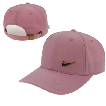 Pink Nike Hook Embroidered Adjustable Outdoor Baseball Cap Hats